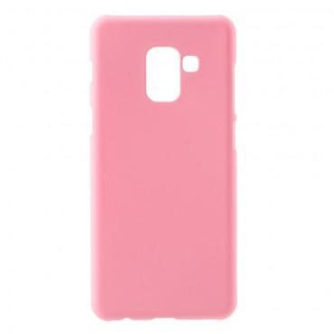 Pevný kryt TPU pro Samsung Galaxy A8 2018 - růžový