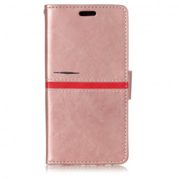 "Módní kryt ""Elegant Line"" pro Samsung Galaxy A8 2018 - růžový"
