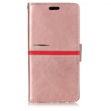 "Módní pouzdro ""Elegant Line"" pro Samsung Galaxy A8 2018 - růžové"