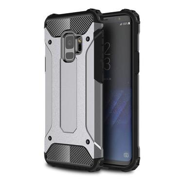 """Robustní obal """"Rock"""" pro Samsung Galaxy S9 - šedý"""