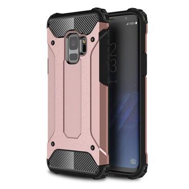 """Robustní obal """"Rock"""" pro Samsung Galaxy S9 - růžový"""