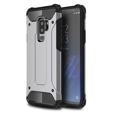 """Robustní obal """"Rock"""" pro Samsung Galaxy S9 Plus - šedý"""