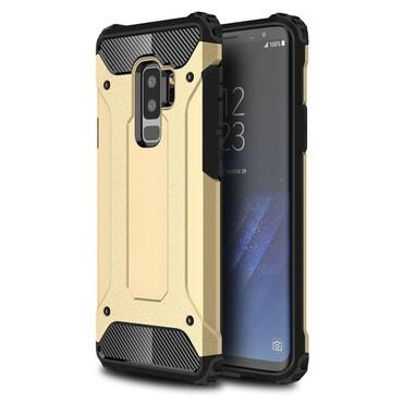 """Robustní obal """"Rock"""" pro Samsung Galaxy S9 Plus - zlaté barvy"""