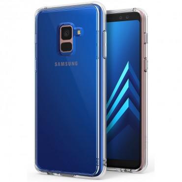 """Kryt Ringke """"Fusion"""" pro Samsung Galaxy A8 2018 - clear"""