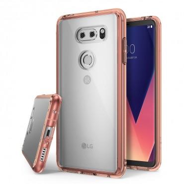 """Obal Ringke """"Fusion"""" pro LG V30 - růžově zlatý"""