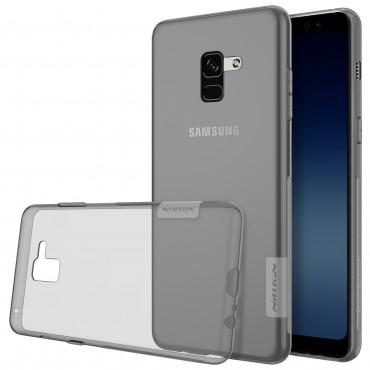 """Premium tenký kryt """"Nature"""" pro Samsung Galaxy A8 2018 - šedý"""