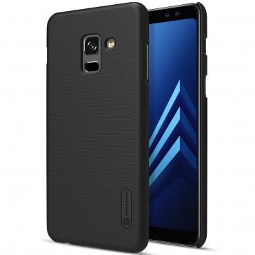 """Prémiový obal """"Super Frosted Shield"""" pro Samsung Galaxy A8 2018 - černý"""