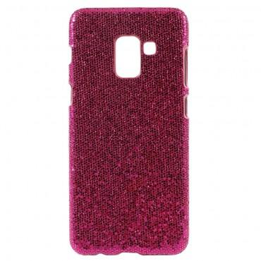 "Třpytivý obal ""Disco Glitter"" pro Samsung Galaxy A8 2018 - růžový"