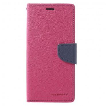 Kryt Goospery Fancy Diary pro Samsung Galaxy A8 2018 - purpurový