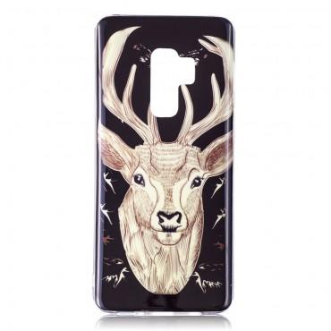"""Kryt svítící ve tmě """"Elk"""" pro Samsung Galaxy S9 Plus"""