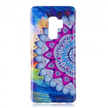 """Fluorescenční obal """"Mandala"""" Samsung Galaxy S9"""
