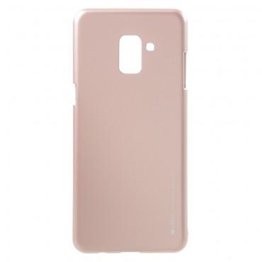 Kryt TPU gel Goospery iJelly Case pro Samsung Galaxy A8 2018 - růžový