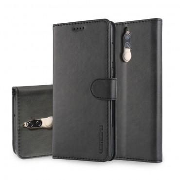 """Elegantní kryt z umělé kůže """"Wallet"""" pro Huawei Mate 10 Lite - černý"""
