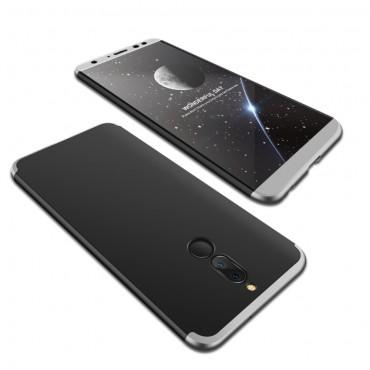 """Elegantní celotělový obal """"Sleek"""" pro Huawei Mate 10 Lite - černo-šedý"""