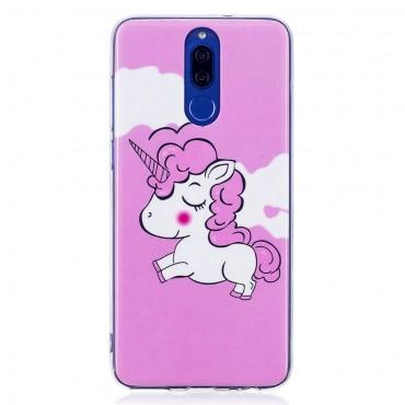 """Kryt svítící ve tmě """"Unicorn"""" pro Huawei Mate 10 Lite"""