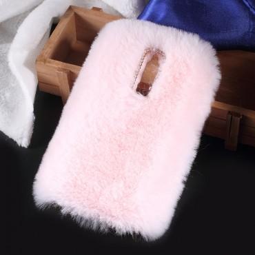 """Módní obal """"Fluffy"""" pro Huawei Mate 10 Lite - růžový"""