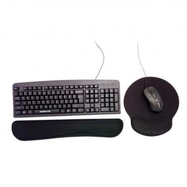 Podložka na myš a klávesnice s paměťovou pěnou