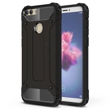 """Robustní obal """"Rock"""" pro Huawei P Smart - černý"""