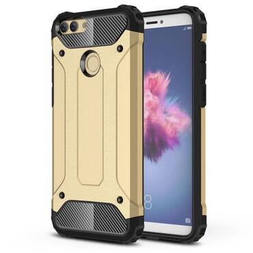 "Robustní obal ""Rock"" pro Huawei P Smart - zlaté barvy"