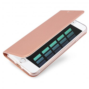 """Módní pouzdro """"Skin"""" pro iPhone 8 / iPhone 7 z umělé kůže - růžové"""