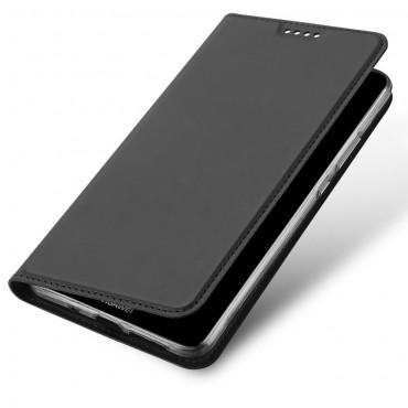 """Módní kryt z umělé kůže """"Skin"""" pro Huawei Mate 10 Pro - šedý"""