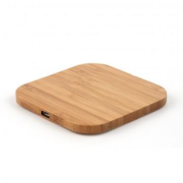 """Bezdrátová nabíjecí stanice """"Bamboo"""" pro všechna mobilní zařízení podporující QI"""