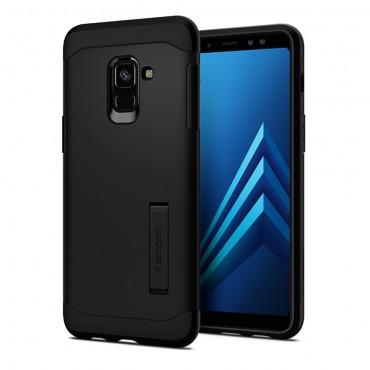 "Obal Spigen ""Slim Armor"" pro Samsung Galaxy A8 2018 - černý"