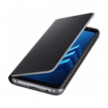 """Originální pouzdro """"Neon Flip"""" pro Samsung Galaxy A8 2018 – černý"""