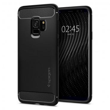 "Kryt Spigen ""Rugged Armor"" pro Samsung Galaxy S9 - black"