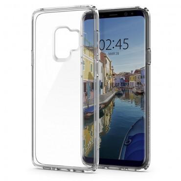 "Kryt Spigen ""Ultra Hybrid"" pro Samsung Galaxy S9 - crystal clear"