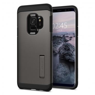 """Obal Spigen """"Tough Armor"""" pro Samsung Galaxy S9 - kovově černý"""