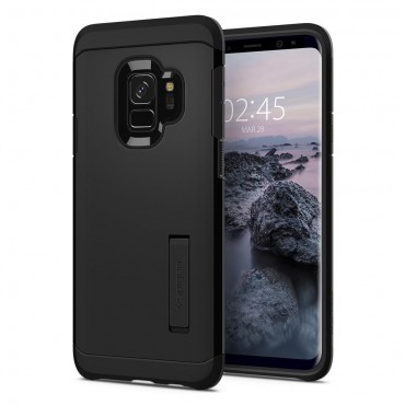 "Obal Spigen ""Tough Armor"" pro Samsung Galaxy S9 - černý"