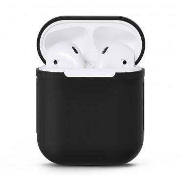 TPU gelový kryt pro sluchátka AirPod - černé