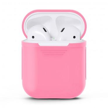TPU gelový kryt pro sluchátka AirPod - růžové