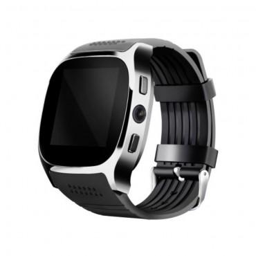 """Chytré bluetooth a NCF hodinky """"T8"""" pro zařízení android – v černé barvě"""