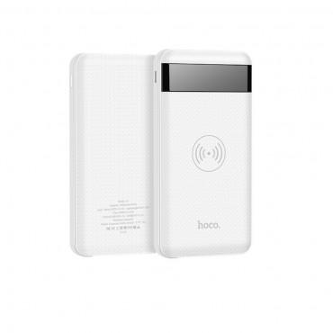 """Powerbanka a bezdrátová nabíjecí stanice """"Power Display"""" pro všechna mobilní zařízení s technologií QI – 10000 mAh"""