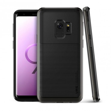 "Kryt VRS Design ""High Pro Shield"" pro Samsung Galaxy S9 - metal black"