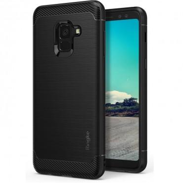 """Kryt Ringke """"Onyx"""" pro Samsung Galaxy A8 Plus 2018 - black"""