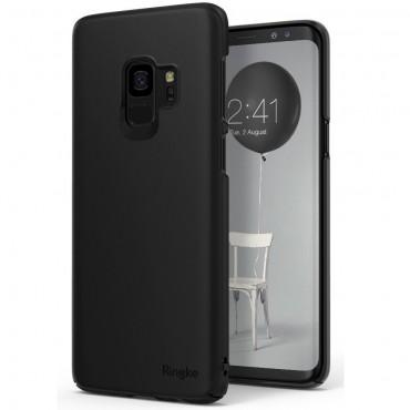"Kryt Ringke ""Slim"" pro Samsung Galaxy S9 - black"