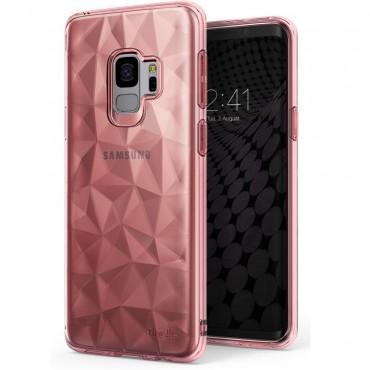 """Obal Ringke """"Air Prism"""" pro Samsung Galaxy S9 - růžově zlatý"""