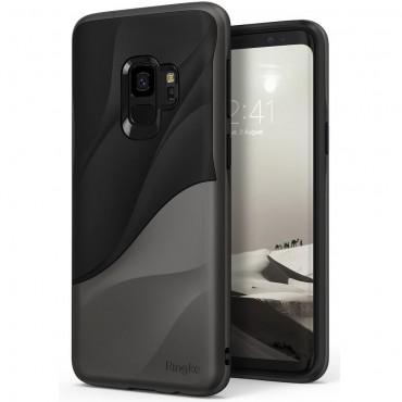 """Obal Ringke """"Wave"""" pro Samsung Galaxy S9 - kovově chromový"""