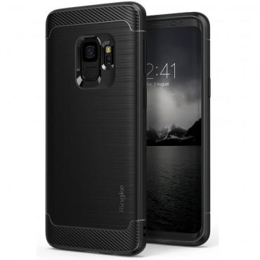 "Kryt Ringke ""Onyx"" pro Samsung Galaxy S9 - černý"
