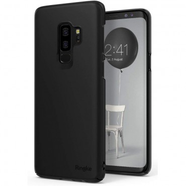 "Kryt Ringke ""Slim"" pro Samsung Galaxy S9 Plus - black"