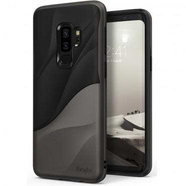 "Kryt Ringke ""Wave"" pro Samsung Galaxy S9 Plus - metallic chrome"