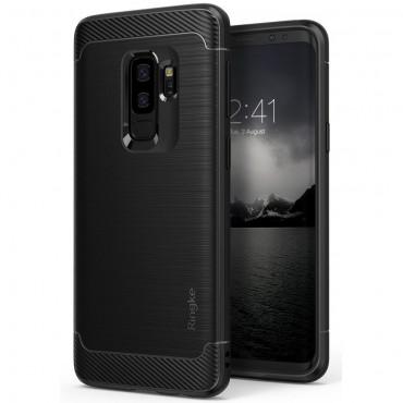 "Kryt Ringke ""Onyx"" pro Samsung Galaxy S9 Plus - černý"