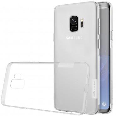 """Prémiový tenký obal """"Nature"""" Samsung Galaxy S9 - průhledný"""