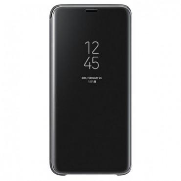 "Originální kryt Samsung ""Clear View"" pro Samsung Galaxy S9 - černý"