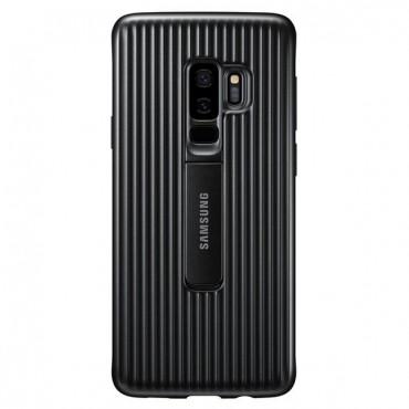 """Originální kryt Samsung """"Protective Standing Cover"""" pro Samsung Galaxy S9 Plus – černé"""
