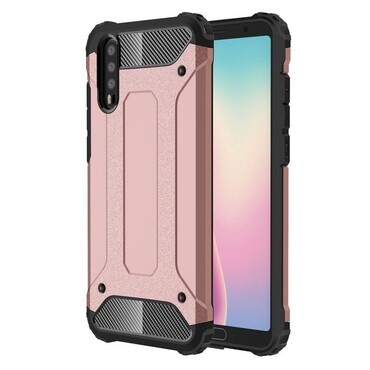 """Robustní obal """"Rock"""" pro Huawei P20 - růžový"""