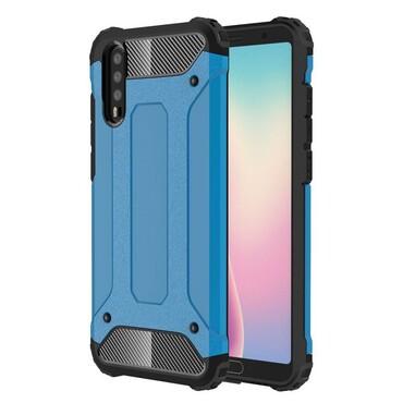 """Robustní obal """"Rock"""" pro Huawei P20 - modrý"""